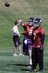 Vikings Favre Fuss Football