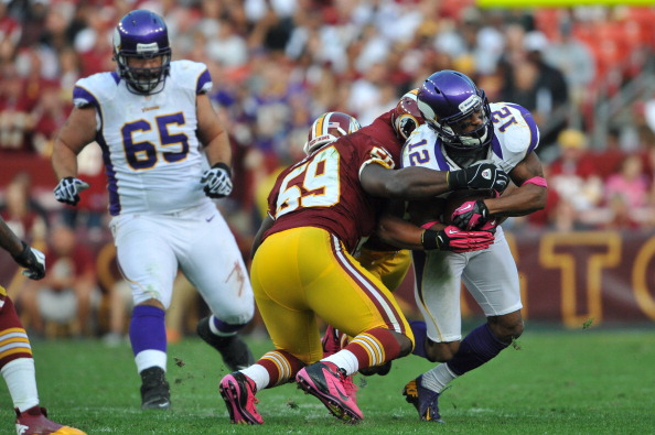 Vikings Fall to RG3 and the Redskins 38-26