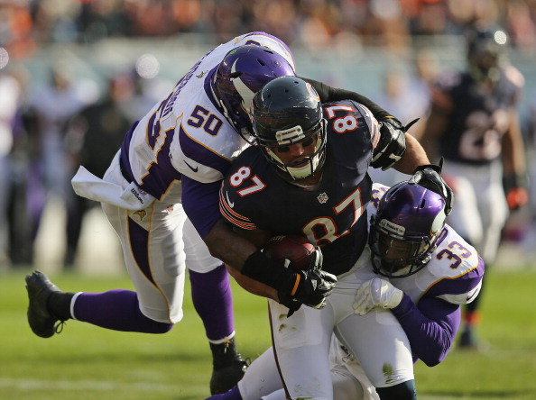 Vikings Beat Up by The Bears in Chicago 28-10