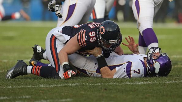 Photo Gallery of the Vikings Loss to the Bears in Chicago Sunda…