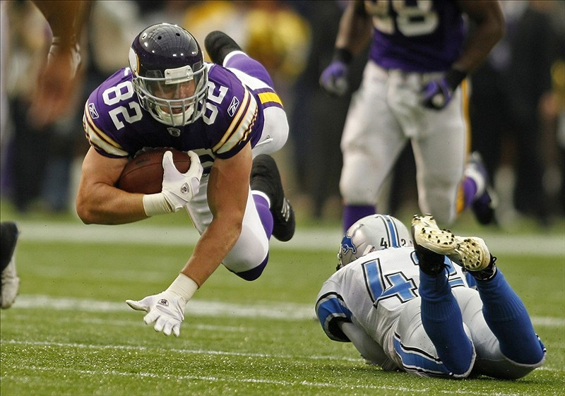 TE Kyle Rudolph Has a Broken Foot