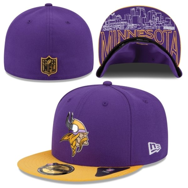 2015 Minnesota Vikings Draft Hats