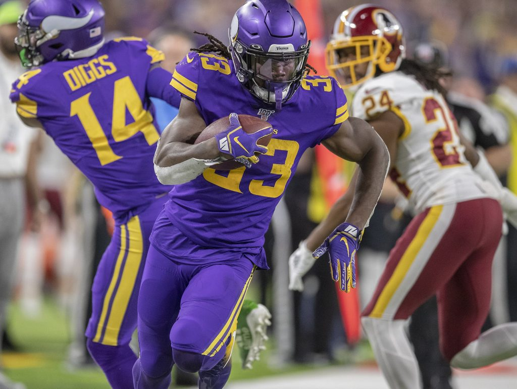 Minnesota RB Dalvin Cook in Rushing Against the Redskins